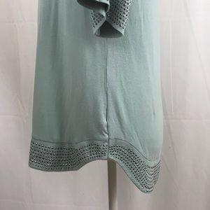 Rose & Olive Tops - Rose & Olive- Jersey knit studded tee, size M